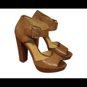 Coach platform heels